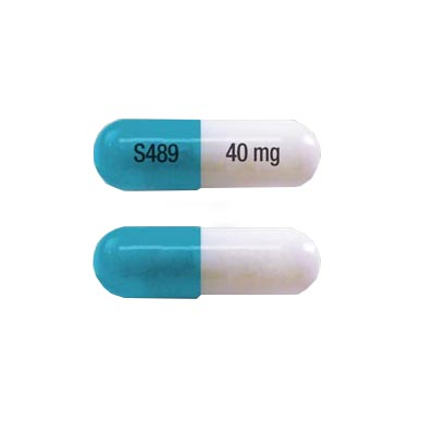 Vyvanse 40 mg capsule